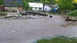 Valaská Bela záplavy