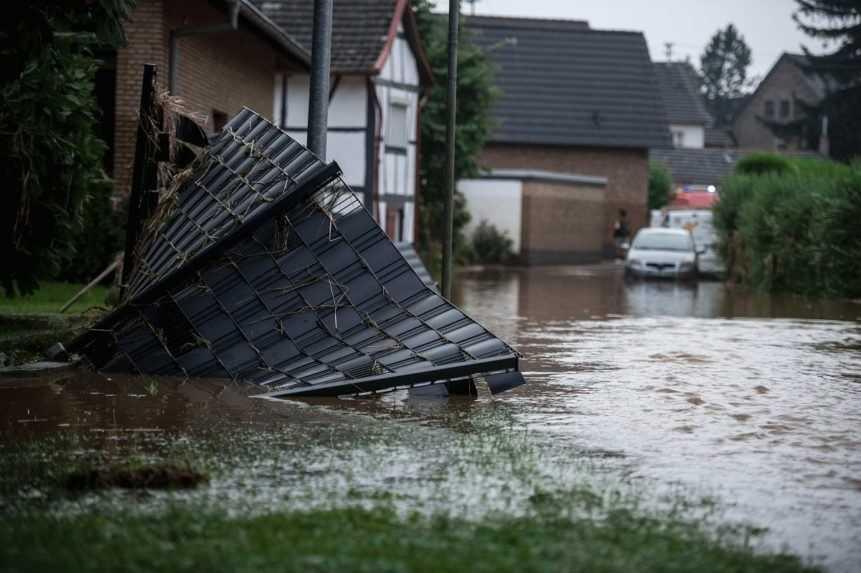 Záplavy v západnom Nemecku