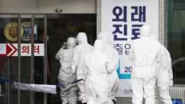 Zdravotnícke centrum Južná Kórea koronavírus