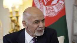 bývalý afganský prezident Ašraf Ghaní