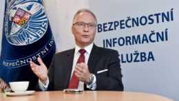 Riaditeľ BIS Michal Koudelka.
