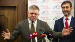 Robert Fico a Juraj Blanár.