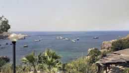 Sicília pobrežie lode
