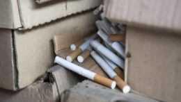 nelegálne cigarety