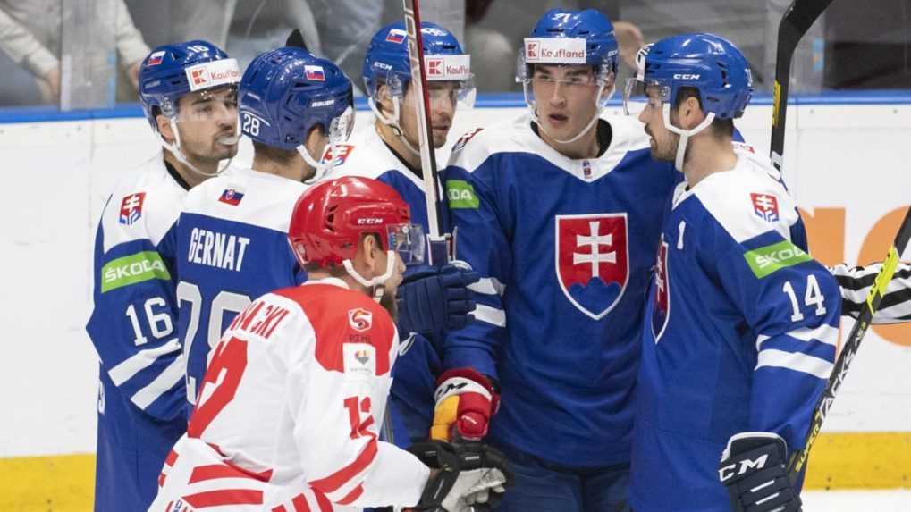 Slovenskí hokejisti zvládli aj druhý zápas olympijskej kvalifikácie. Poliakom nedali šancu