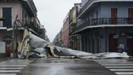Škody po hurikáne Ida