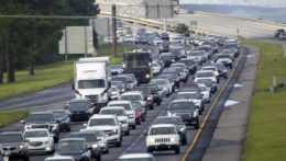 Zápchy na diaľnici v USA