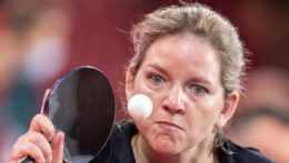 slovenská reprezentantka v stolnom tenise Alena Kánová