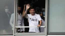 Lionel Messi v Paríži