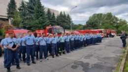 Slovenskí hasiči na ceste do Grécka