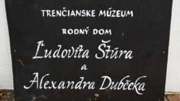 rodný dom Alexandra Dubčeka a Ľudovíta Štúra v Uhrovci