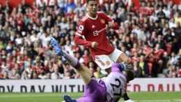 Futbalista Manchestru United Cristiano Ronaldo