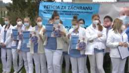 Petícia za záchranu nemocnice v Dolnom Kubíne.