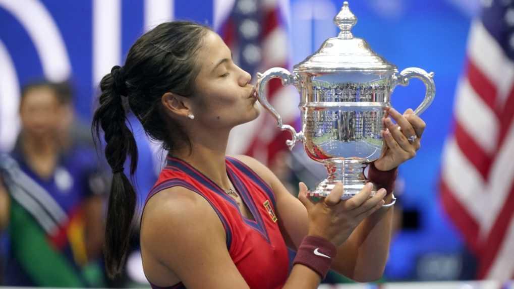 Prvotriedna senzácia. US Open vyhrala osemnásťročná kvalifikantka
