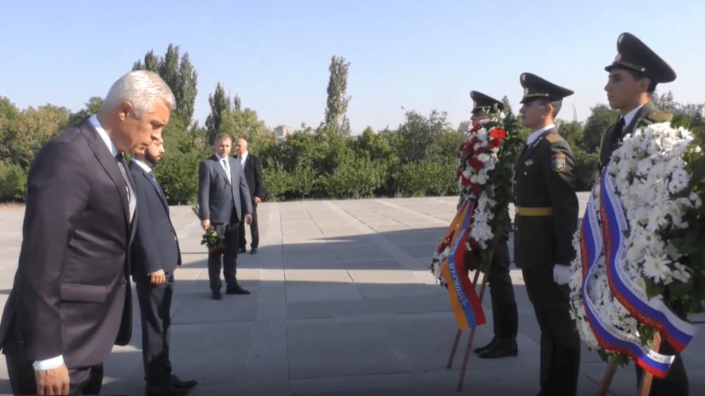Slovenský šéf diplomacie navštívil Arménsko