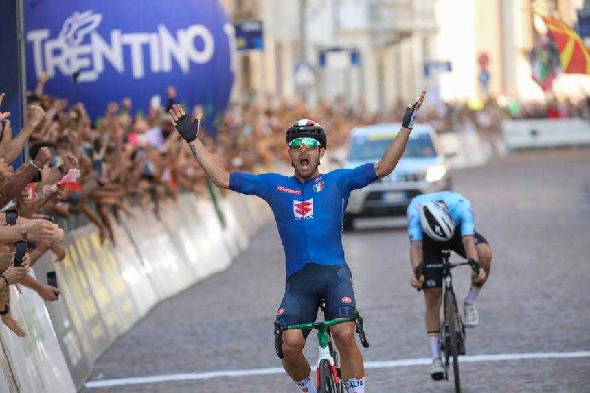Majstrom Európy v cyklistike je Colbrelli. Sagan nedokončil