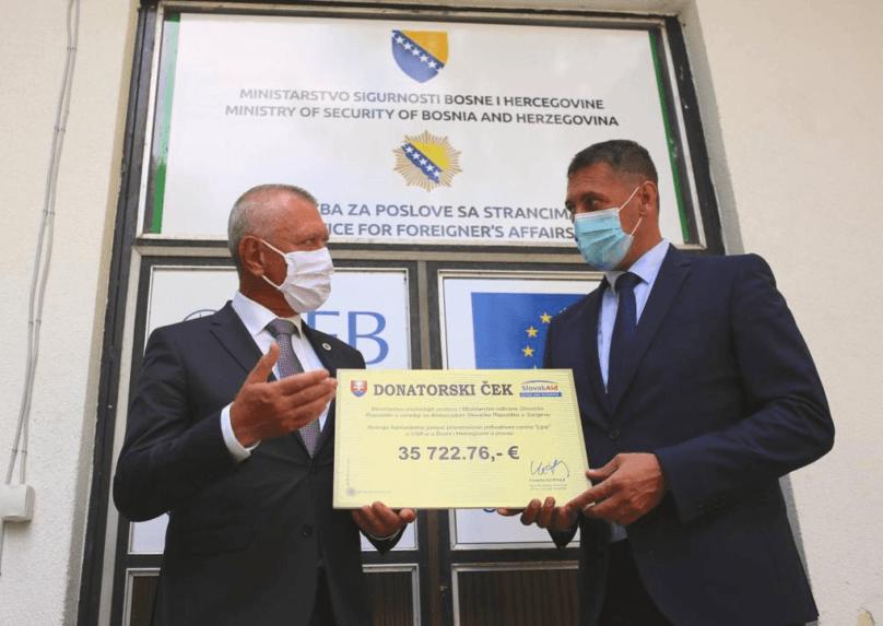 Slovensko poskytne Bosne a Hercegovine humanitárnu pomoc za takmer 36 000 eur