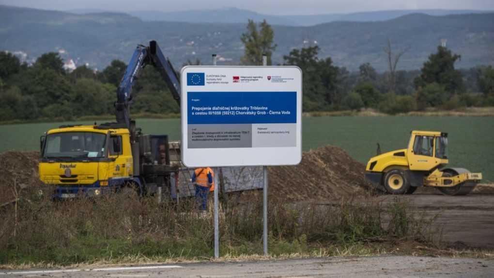Bratislavský kraj začal s výstavbou malokarpatského obchvatu