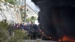 Protesty v Čiernej Hore