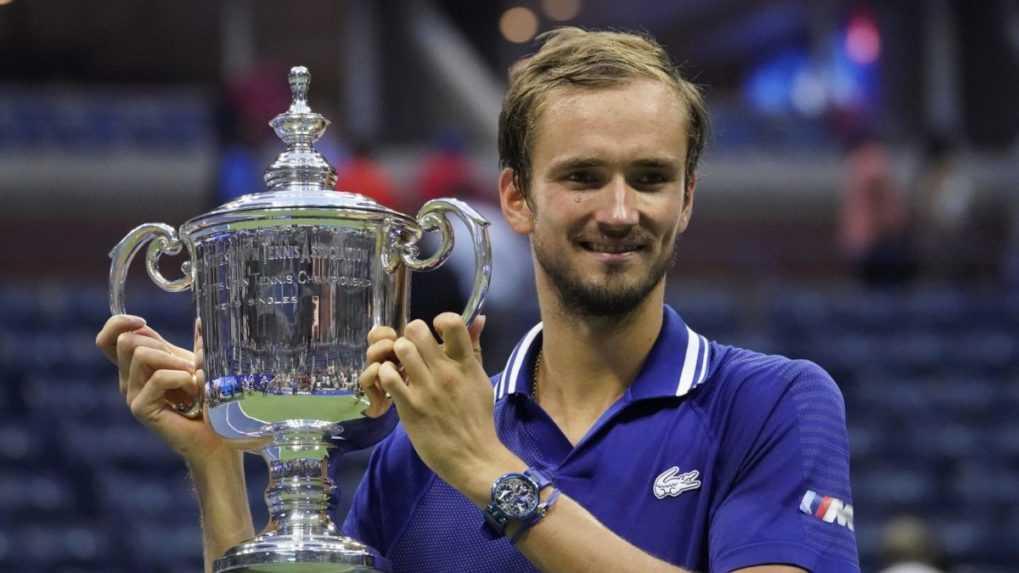 Na US Open triumfoval Medvedev, vo finále zdolal Djokoviča
