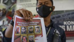 Teroristi v Indonézii.