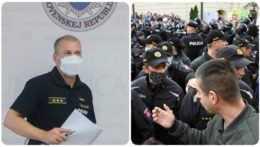 Peter Kovařík a protesty