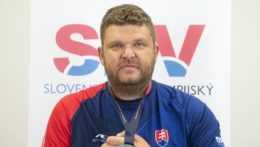 slovenský reprezentant Marián Kuřeja