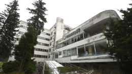 Liečebný dom Machnáč v Trenčianskych Tepliciach