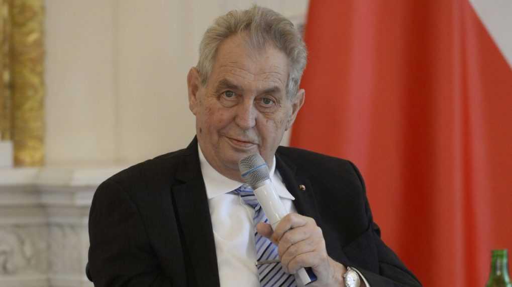 Český prezident Zeman zablahoželal víťazom volieb a prijal Babiša