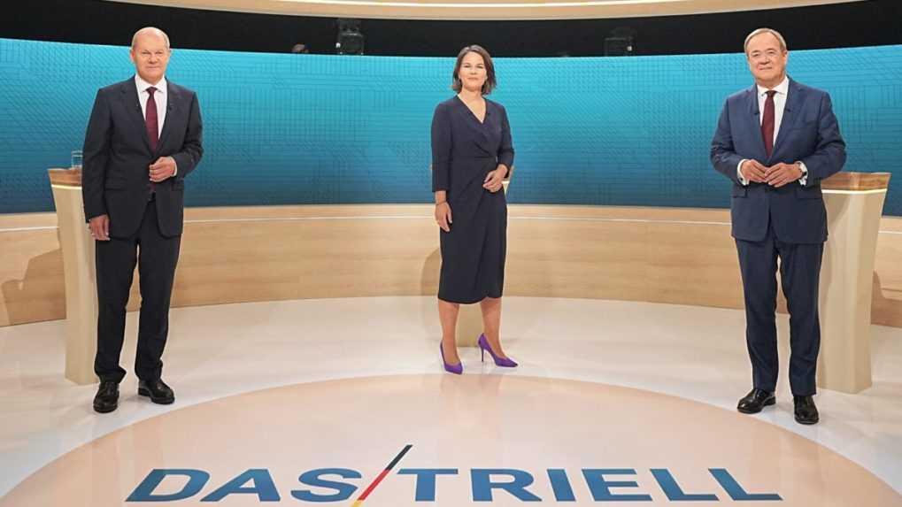 Boj o post nemeckého kancelára vrcholí. Kandidáti sa stretli v ďalšej debate