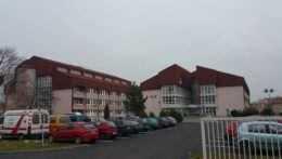 areál nemocnice Svet Zdravia Rimavská Sobota