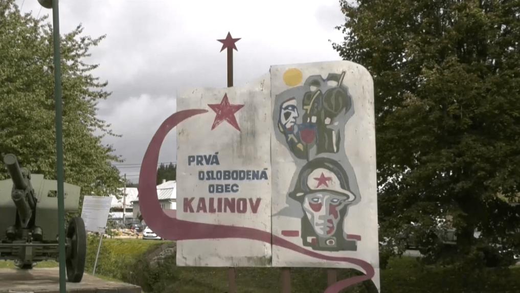 V Kalinove, prvej oslobodenej obci na Slovensku, vynovili pamätník