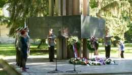 Pietna spomienka na obete holokaustu.