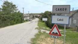 značka obce Cakov