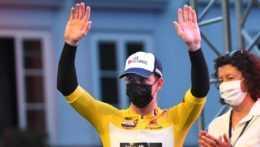 Austrálsky cyklista Kaden Groves.