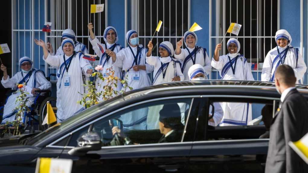 Pápež František navštívil aj Misionárky lásky, ktoré sa starajú o ľudí v núdzi