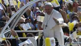 Pápež František v Prešove