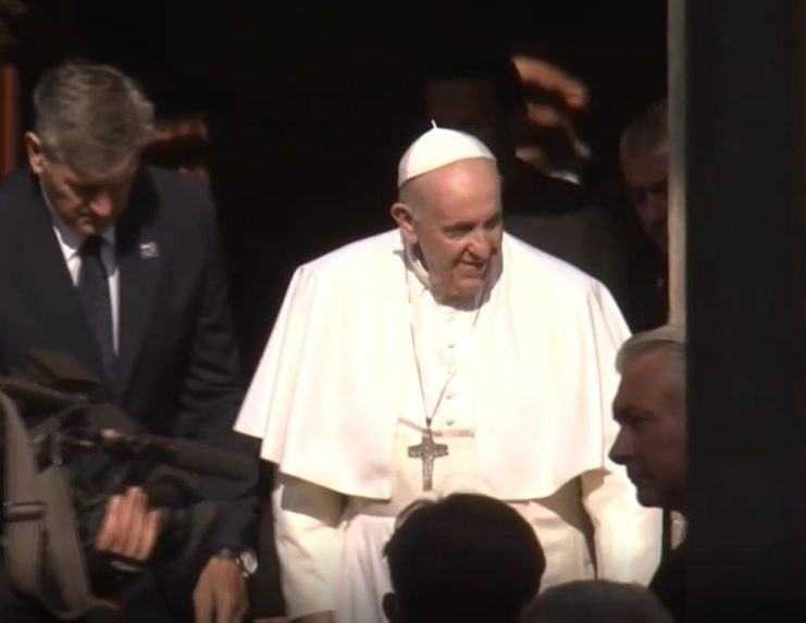 Pápeža mohli v centre Košíc vidieť aj ľudia, ktorí sa nikde neregistrovali