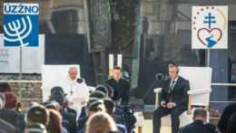 Stretnutie pápeža so židovskou komunitou