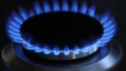 Plameň plynového sporáka