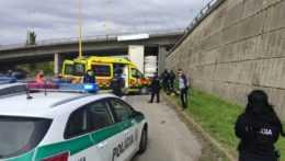 Zásah polície proti nelegálnym migrantom v Košiciach