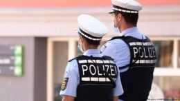 príslušníci nemeckej polície
