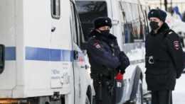 príslušníci ruskej polície