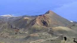 Sopka Teneguía na ostrove La Palma