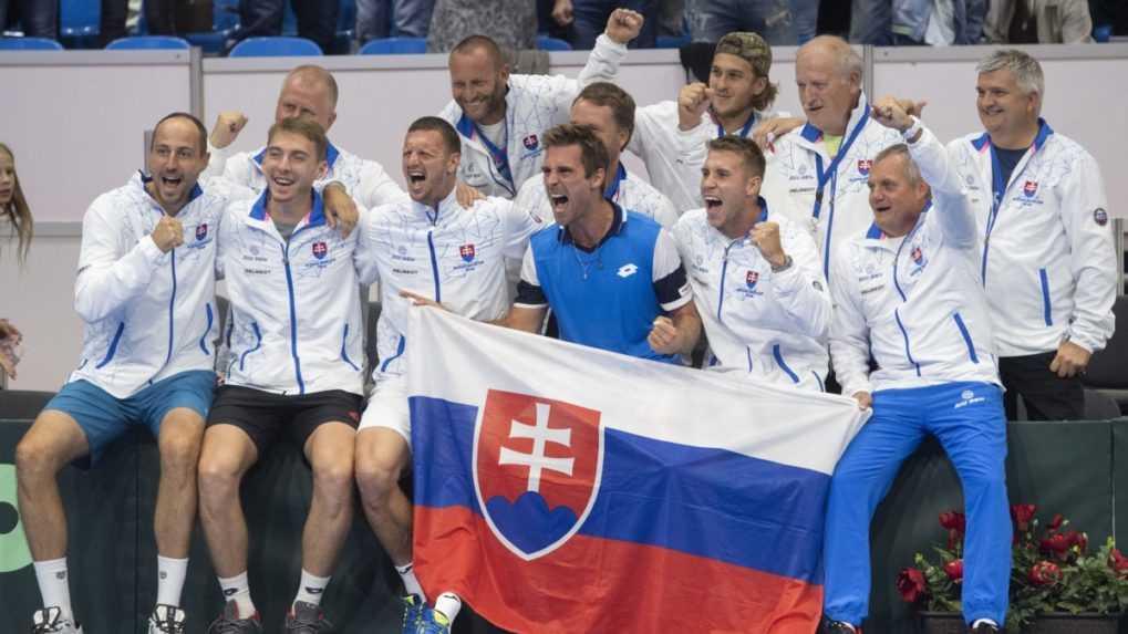 Slovenskí tenisti postúpili do kvalifikácie o finálový turnaj Davisovho pohára