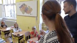 Nástup detí do škôl v ČR