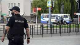 príslušník ukrajinskej polície