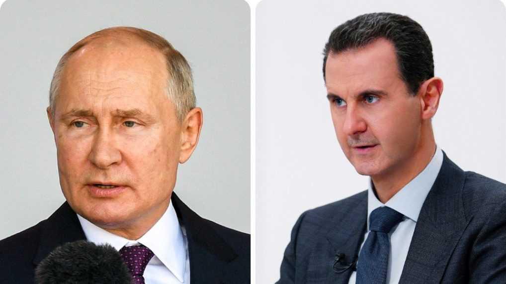 Putin v Kremli prijal sýrskeho prezidenta Bašara Asáda