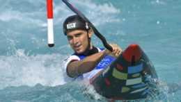 slovenský vodný slalomár Jakub Grigar