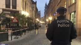 belgický policajt